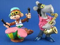 Bully - Äffle und Pferdle mit Trommel und Saxofon - Band - Musiker - Comic Figur