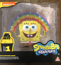 *Spongebob Squarepants Masterpiece Meme Collection Rainbow Figure*Rare