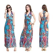 Viscose Party Floral Sleeveless Dresses for Women