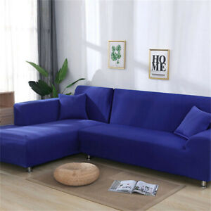 Sofa Cover Slipcover Protector Couch High Stretch Lounge 2/3/4 Seater L Shape JH