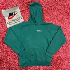 Vintage 90s Nike Swoosh Embroidered Travis Scott Style Made In USA Hoodie XL