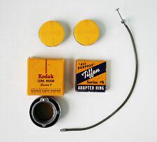 Vintage  Camera Filters/Lenses,Lens Hood, Adapter Ring, Shutter Extension