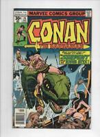 CONAN the BARBARIAN #74 VF/NM, Buscema, Ernie Chan, Howard, 1970 1977, Belit