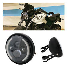 7Inch Round LED Halo Projector for FLD 1994-2013 Touring and 7inch Black Housing