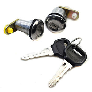Door Lock Set W/ Keys BE32-76-210 For Ford Festiva Mazda B2000 B2200 B2600 RX-2
