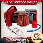 Cold Air Intake Filter Pipe Induction Kit Power Flow Hose System Car Accessories
