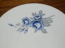 1 Kuchenteller 20 cm    Mitterteich FORM  840  Grau / Blaue  Rose