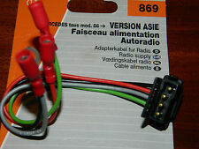CABLE cablage D'AUTORADIO MERCEDES pioneer KENWOOD sony