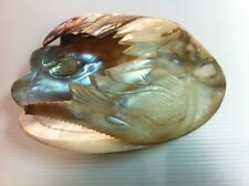 Big Mother Of Pearl Oyster Sea shell Tobacco Cigarette Ashtray Jewelry Bowl Lamp