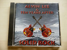 "CD ""ALVIN LEE & TEN YEARS AFTER"" SOLID ROCK  - 1997 CHRYSALIS"