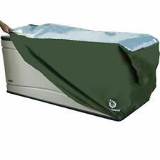 YardStash Heavy Duty Waterproof Deck Box Cover Protects from Outdoor Rain Win.