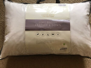 Linea luxury Hotel collection feather and Down pillow House Of Fraser