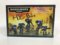 Warhammer 40k Space Marine Assault Squad Bits Weapons Body Instructions + DC