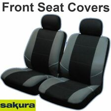 CHOICE OF 6 COLOURS Double XTRA HEAVY DUTY RUGGED Waterproof Van Seat Covers RED Single