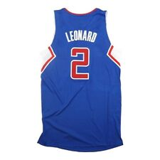 Kawhi Leonard Adidas Los Angeles Clippers Authentic On-Court Rev 30 Jersey Large