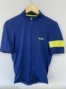 Rapha super lightweight navy short sleeve cycling jersey large A++++ Shape!