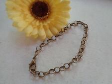 Einfaches Gliederarmband bronze