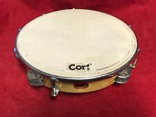 """10"""" Tunable Tambourine Double Row with 8 Pairs of Jingles (Zils)"""