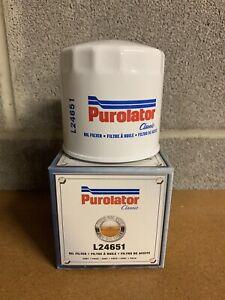 Engine Oil Filter Purolator L24651 (WIX 51372, FRAM PH2)  - CASE OF 12