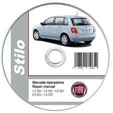 fiat stilo workshop manual in vehicle parts accessories ebay rh ebay ie Fiat Bravo 2004 Fiat Stilo