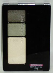 1 Maybelline New York Expert Wear Crease Proof Trio Eye Shadow OLIVE MARTINI 37T