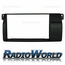 Bmw Serie 3 E46 Doble Din Panel Facia Panel / Adaptador / Placa ct23bm03