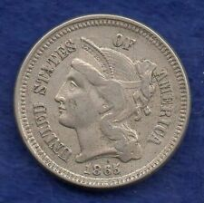 More details for usa, 1865 3 cents (ref. c5993)