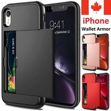 For iPhone 12 Pro 11 XR XS Max 8 Plus 7 6 S SE 2020 Case Card Wallet Armor Cover