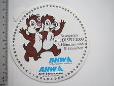 Adesivo sticker BHW-AHW-Bausparen-dispo 2000-A-B CORNETTO (7139)