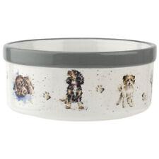 """Royal Worcester Wrendale Designs 6"""" Porcelain Dog Bowl"""