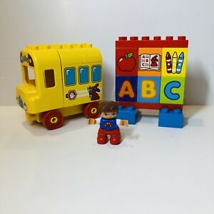 Lego Duplo My First ABC School Bus 10603 Complete