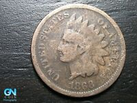 1868 Indian Head Cent Penny  --  MAKE US AN OFFER!  #B7970