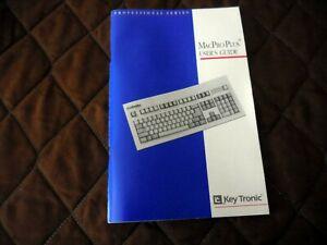 Mac Pro Plus Keyboard  User's Guide Key Tronic 1992