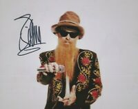 Billy Gibbons  (ZZ Top)   **HAND SIGNED**   8x10 photo ~  AUTOGRAPHED