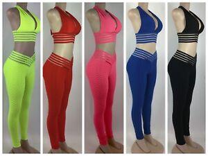 Scrunch Jumpsuits Butt Lift bubble leggings Honeycomb amazon tik tok M/L