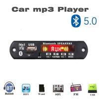 Car FM Radio Bluetooth Speaker Amplifier Module MP3 Decoder Board Music Player
