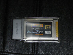 Sound Blaster Audigy 2 ZS Notebook pcmcia
