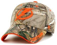 Tampa Bay Lightning Nhl '47 Mvp RealTree Camo Orange Hat Cap Adult Adjustable