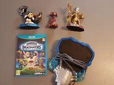 Jeu Skylanders Imaginators (Wii U) + 3 figurines