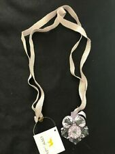 Flower Necklace (One Size) New J.Crew Lavender Acrylic