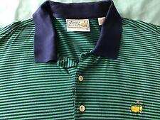 Augusta National Golf Shop Striped Polo Shirt Men'S Xl