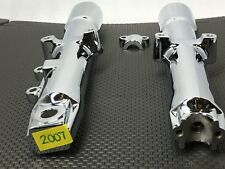 HARLEY G592-30 Heritage FATBOY SOFTAIL, CHROME FORK SLIDERS LOWER LEGS 2007 & Up