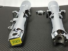 "HARLEY CHROME 2007 Heritage FORK SLIDERS LOWER LEGS, SOFTAIL,""""EXCHANGE"" G592-30"
