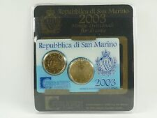 *** euro kms san marino 2003 mini-kit monedas de curso conjunto coin set monedas ***