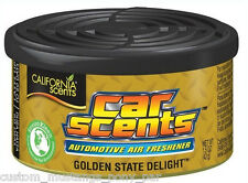 California Car Scents GOLDEN STATE DELIGHT Air Freshener Can Lasts Upto 60 Days!