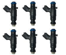 6pcs Genuine Fuel Injector Bosch 0280156131 For Buick Cadillac SRX 3.6L 12571159
