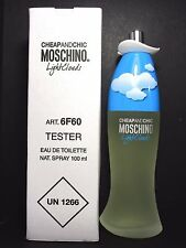 Light Clouds By Moschino 3.4 Oz EDT Spray Brand New Tester Perfume For Women