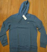 Authentic Lacoste Pullover Lightweight Hoodie/Hooded T-Shirt Storm Blue 8 3XL