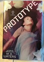 M.D. Waters PROTOTYPE First Edition 1st Printing Suspenseful Tale of a Woman