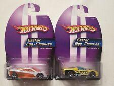2 Hot Wheels  2006 Easter Egg-Clusives 40 SOMETHING & HW PROTOTYPE 12